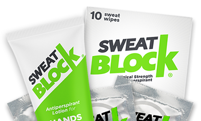 Stop Sweat with SweatBlock Solutions